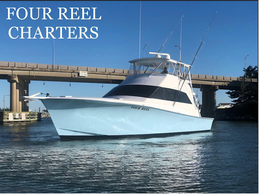 New Four Reel Charters Fishing Boat